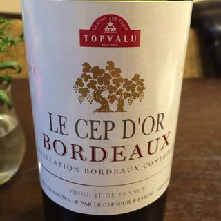 Topvalu Le Cep d'Or Bordeaux Rouge