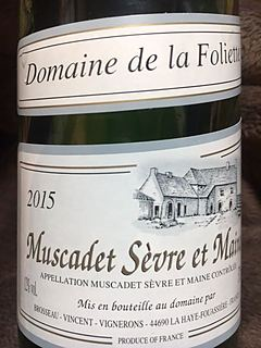 Dom. de la Foliette Muscadet Sèvre et Maine