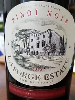La Forge Estate (Ile La Forge) Pinot Noir
