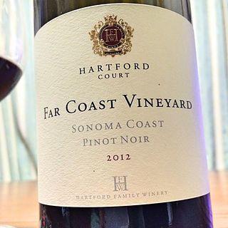 Hartford Court Far Coast Vineyard Pinot Noir(ハートフォード・コート ファー・コースト・ヴィンヤード ピノ・ノワール)