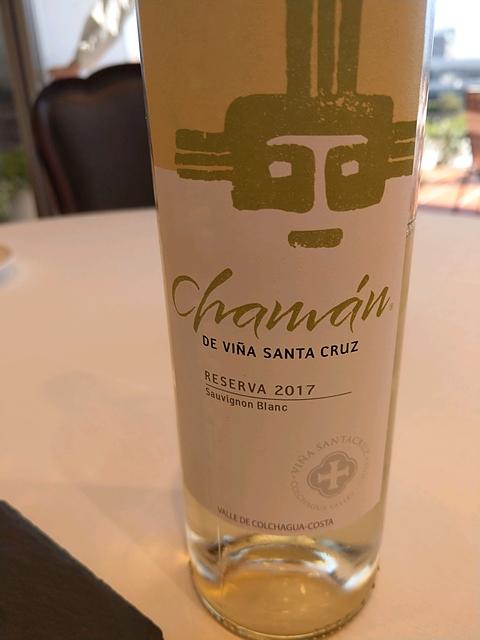 Chamán de Viña Santa Cruz Reserva Sauvignon Blanc