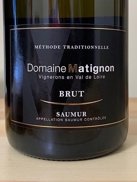 Dom. Matignon Saumur Brut(ドメーヌ・マティニョン ソーミュール ブリュット)