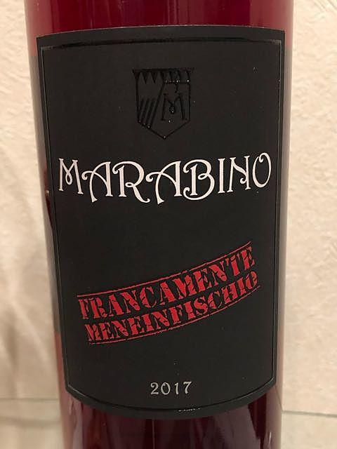 Marabino Francamente Me Ne Infischio(マラビーノ フランカメンテ・メ・ネ・インフィスキオ)