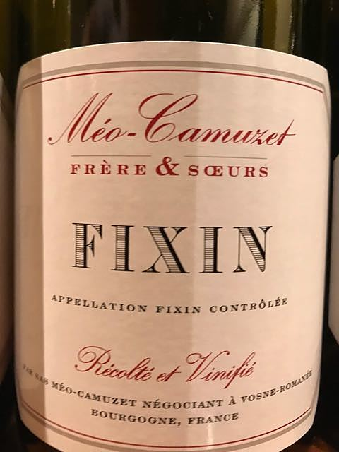 Méo Camuzet F&S Fixin