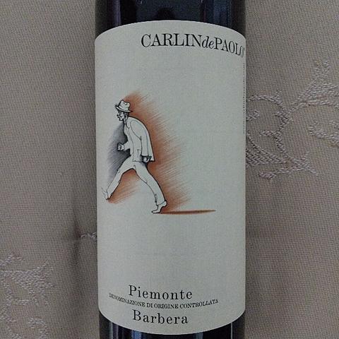 Carlin de Paolo Piemonte Barbera