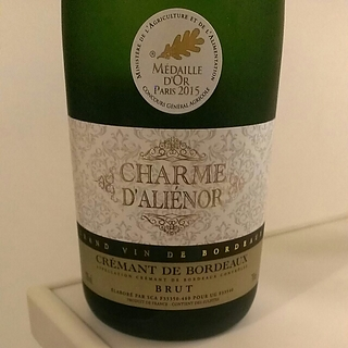 Charme d'Alienor Crémant de Bordeaux Brut