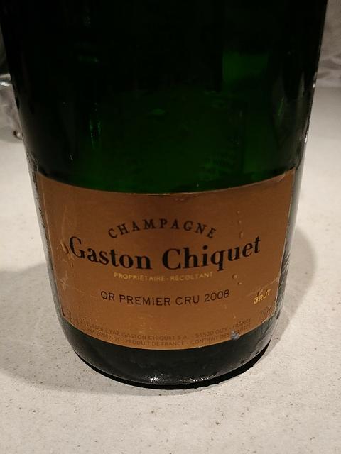 Gaston Chiquet Or 1er Cru(ガストン・シケ オール プルミエ・クリュ)