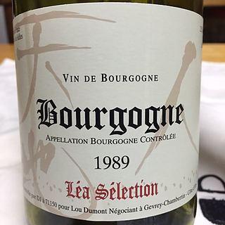 Lou Dumont Léa Sélection Bourgogne Rouge