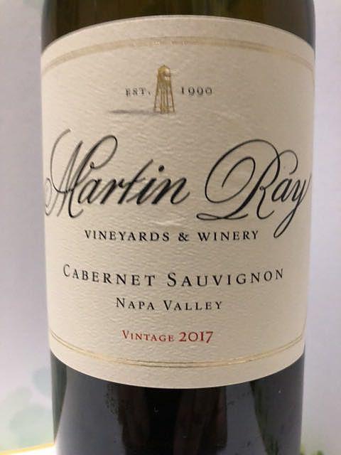 Martin Ray Cabernet Sauvignon Napa Valley(マーティン・レイ カベルネ・ソーヴィニヨン ナパ・ヴァレー)