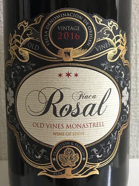 Finca Rosal Old Vines Monastrell