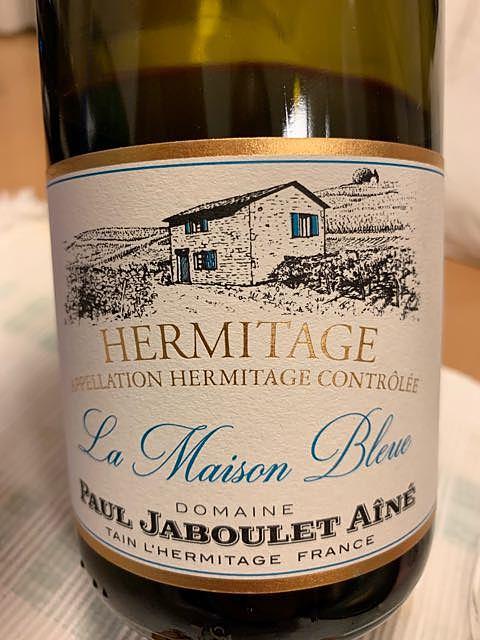 Paul Jaboulet Ainé Hermitage La Maison Bleue(ポール・ジャブレ・エネ エルミタージュ ラ・メゾン・ブルー)