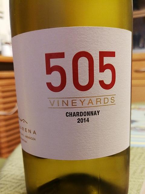 505 Vineyards Chardonnay