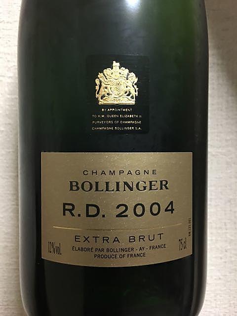 Bollinger R.D. Extra Brut(ボランジェ アール・ディー エクストラ・ブリュット)