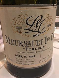 Lucien Le Moine Meursault 1er Cru Porusot