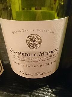 Maison Roche de Bellene Chambolle Musigny 1er Cru Derrière la Grange Collection Bellenum