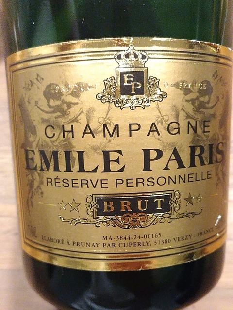 Emile Paris Réserve Personnelle Brut(エミール・パリ レゼルヴ・ペルソネル ブリュット)