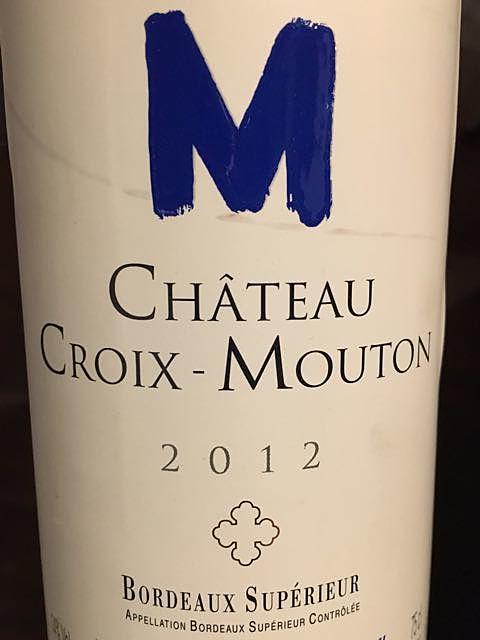 Ch. Croix Mouton