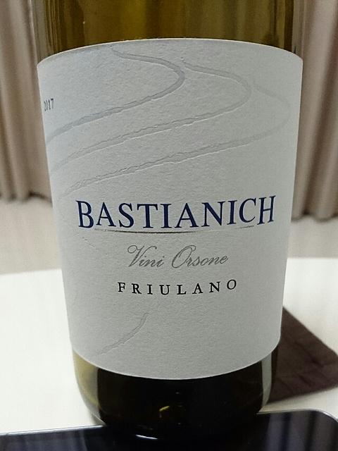 Bastianich Friulano(バスティアニッヒ フリウラーノ)