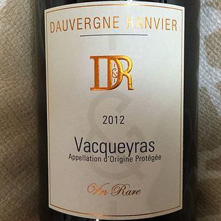 Dauvergne Ranvier Vacqueyras Vin Rare