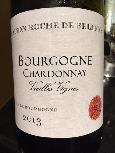 Maison Roche de Bellene Bourgogne Chardonnay Vieilles Vignes(メゾン・ロッシュ・ド・ベレーヌ ブルゴーニュ シャルドネ ヴィエイユ・ヴィーニュ)