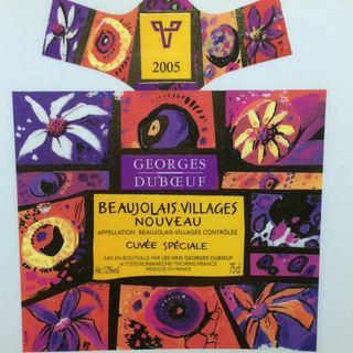 Georges Duboeuf Beaujolais Villages Nouveau Cuvée Speciale