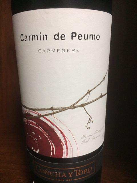 Concha y Toro Carmín de Peumo