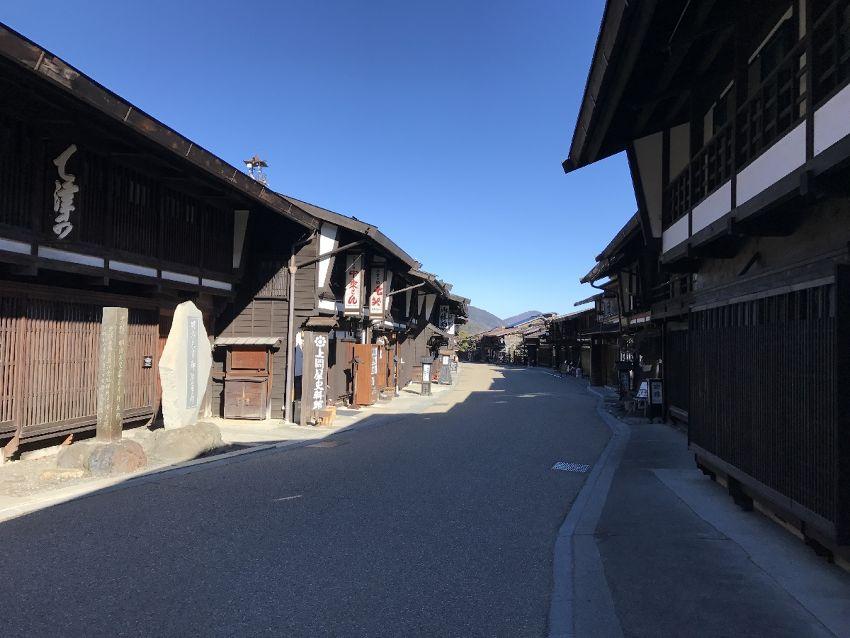 Nakasendo (Kisofukushima -> Narai)