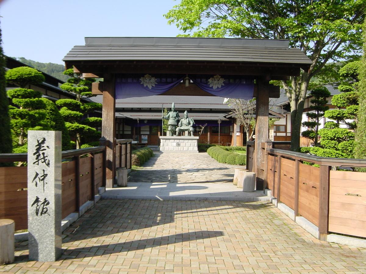 Tour of the relics in memory of Yoshinaka Kiso and Miyanokoshi-juku