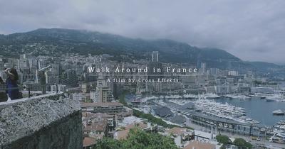 Walk around in France