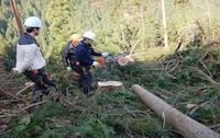 9月12日(土)~13(日)【林業木材産業を体験】四国のへそ 森林の楽校2020