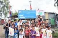 カンボジアの孤児院・スラム・職業訓練所を訪れる!