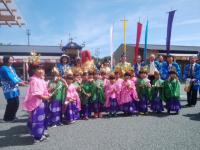 第89回 9月連休14~16日南三陸上山八幡宮:宵宮祭・稚児祈祷・行列支援ボランティアツアー
