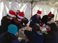 第72回フェローズ・ウィルボランティアツアー:南三陸の子供達へクリスマス&モミの木植樹の贈り物