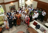 国際芸術家センター(IAC)の「大使館でお茶を」運営スタッフ募集!