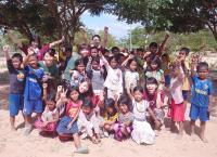 小学生を対象とした民間学童施設でのボランティア(江東区)