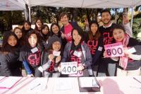 ピンクリボン 乳がん啓発 チャリティーランイベント 1日ボランティア募集!