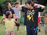 孤児院の子どもとダンス交流ボランティア