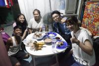 フィリピンの貧困地域でストリートチルドレンと交流ボランティア