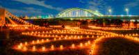 【11/2】多摩川で2000本のキャンドルを使ってみんなで光の地上絵を描こう!