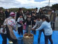 さくら植樹会&餅つき大会 in 石巻市牡鹿半島