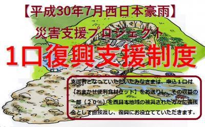 【平成30年7月西日本豪雨】災害支援「1口支援制度チラシ配布」ボラ...