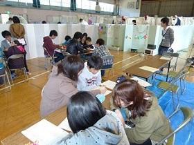 8月~ 広島県呉市または坂町 豪雨被災による避難所でのPTSDに対応した...