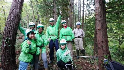 子どもの森「やっほうの森」づくりin栃木
