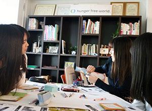 高校生のおしゃべりカフェ!~飢餓問題に対して高校生にできることって?~