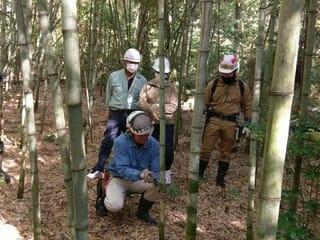 2021年11月21日【森林作業体験】キノコの森 森林の楽校2021