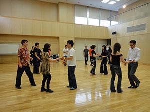 サルサ(ダンス)の練習会のお手伝い募集