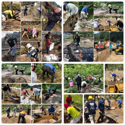 九州北部豪雨「みんなの力」災害ボランティア募集(6/16.17分)