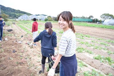 食糧自給率UPの為の、援農ボランティアと若手農業者との交流!!