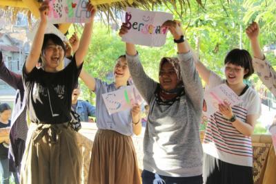 インドネシアにおけるプログラムAlternative Leadership Program活動報告会