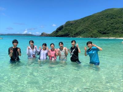 【夏休み】世界トップクラスの透明度を誇る「渡嘉敷島」で、島の課題解...